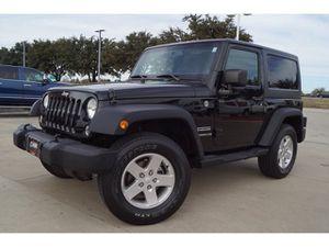 2014 Jeep Wrangler for Sale in Arlington, TX