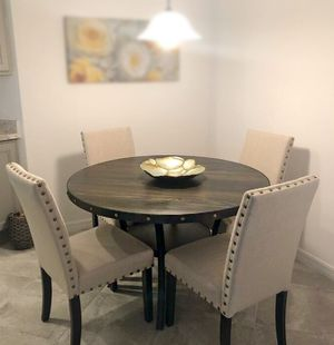 NEW Round Dining Set | 5 Pc dining set for Sale in Montclair, CA