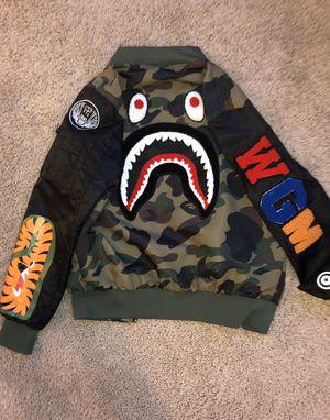 Bape flight jacket M for Sale in Frisco, TX