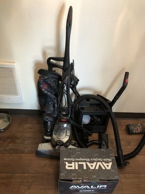 Kirby Avalir vacuum/ carpet cleaner (only used twice) for Sale in Vancouver, WA