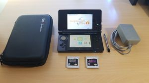 Nintendo 3DS, 2 games, case, and charger for Sale in Fairfax, VA