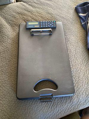 Black medical clipboard for Sale in Escondido, CA