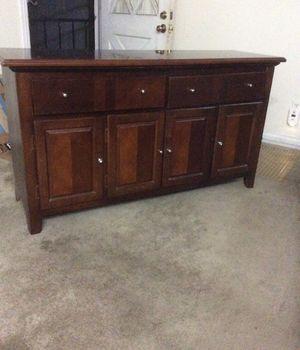 Nice dresser, cabinet, redwood. for Sale in San Diego, CA