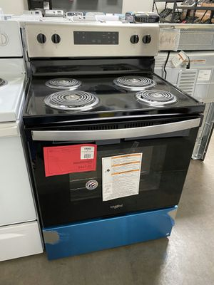 New Whirlpool Electric Range 1yr Manufacturers Warranty for Sale in Chandler, AZ