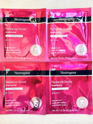 (4) Neutrogena Face Masks - $5 For All FIRM for Sale in Tustin, CA