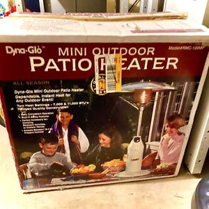 Dyna-Glo All Seasons Mini Outdoor Patio Heater - Table Top for Sale in HOFFMAN EST, IL