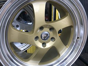 Gold ipw rims 19x8.5/10 et35 5-114.3 for Sale in Bronx, NY