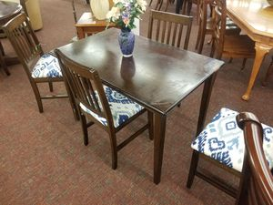 Kitchen. Table. & 4 wood. Chairs for Sale in Morrisville, NC