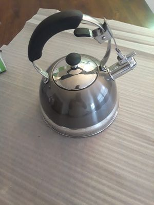 Quick Heat Whistling Kettle for Sale in Bloomfield, NJ
