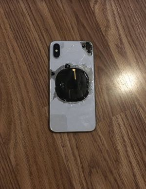 iPhone X silver 64GB for Sale in Marysville, OH