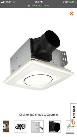NuTone 110cfm Bath Fan/Light for Sale in Seattle, WA