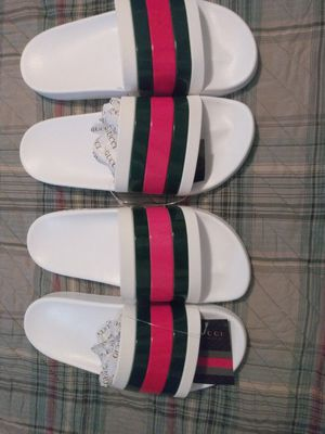 His and her gucci slides for Sale in Mesquite, TX