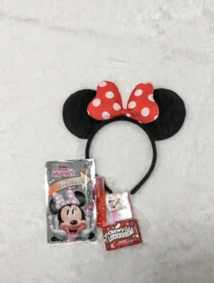 Minnie Mouse ears, red or pink your can choose and add glitter if you'd like. Free gifts with purchase. for Sale in Lakeland, FL