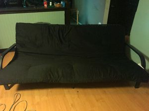 Black futon for Sale in Galloway, OH