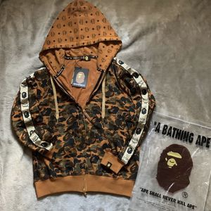 BAPE X MCM Camo Zip Hoodie for Sale in Covina, CA