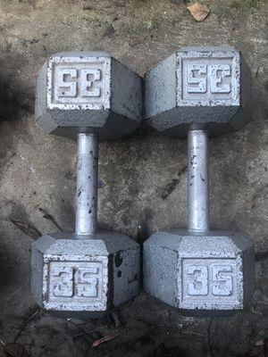 35LB Dumbbells for Sale in Modesto, CA