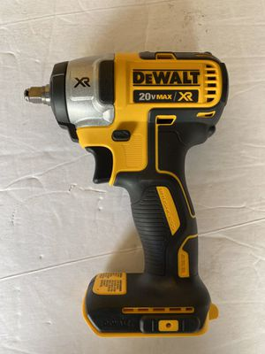 DEWALT XR BRUSHLESS IMPACT WRENCH DRILL 3/8 ( no battery no charger) for Sale in Tamarac, FL