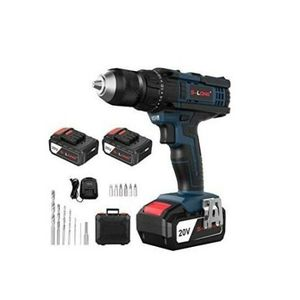 S-LONG 20V Max Impact Cordless Drill Driver Kit 2 Batteries Fast Charger for Sale in South Gate, CA