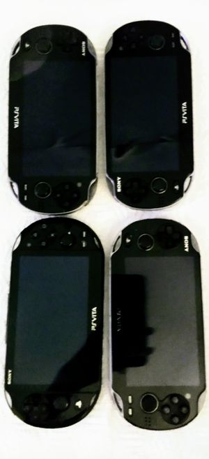 MODDED PS VITAS 64 GB WITH EVETY VITA & PSP GAMES ($180 EACH) for Sale in Phoenix, AZ
