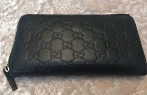 Authentic Black Gucci Wallet for Sale in Elmhurst, IL