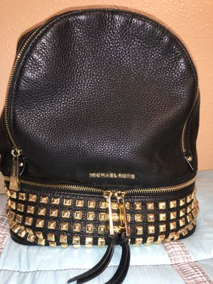 Michael Kors studded leather backpack for Sale in Lutz, FL