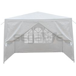 10' x 10' Outdoor Canopy Party Wedding Tent Gazebo Pavilion w/4 SideWalls White for Sale in Modesto,  CA