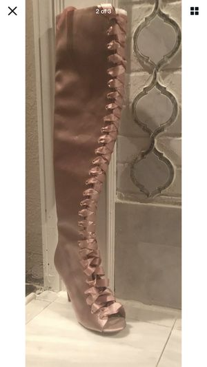Aldo Satin Over the Knee Boots for Sale in Washington, DC