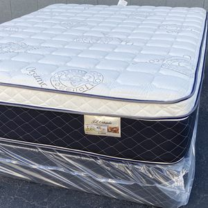 New Ortho Plush Queen Mattress for Sale in Seal Beach, CA