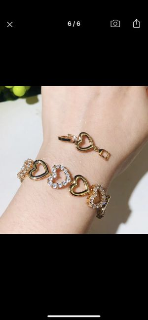 Gold plated bracelet for Sale in Cary, NC