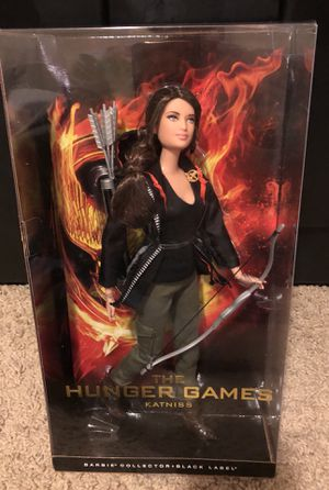 Hunger Games Katniss Barbie doll Black Label NEW sealed in box for Sale in Dublin, OH