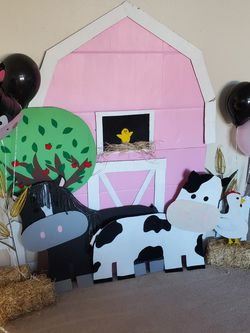 Farm Theme Birthday Decor for Sale in Yakima,  WA
