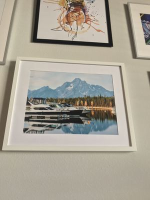 12x18 Landscape photo of the grand Tetons. Frame included for Sale in Superior, CO