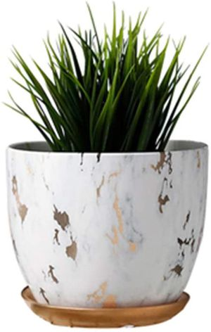 """Marble plant pot 6"""" for Sale in Goodyear, AZ"""