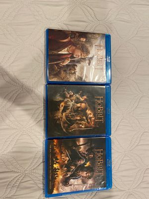 The Hobbit Trilogy Blu-ray & DVD for Sale in Malaga, WA