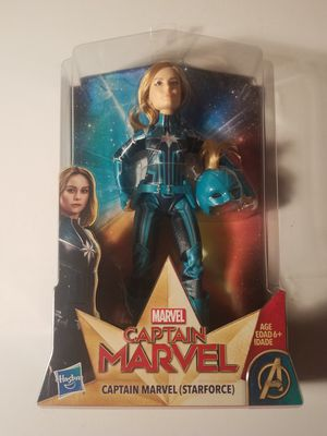 Captain marvel starforce doll new sealed toy for Sale in Clinton, IA