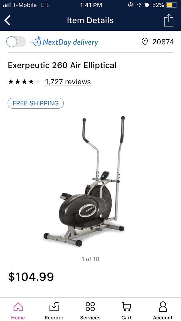 Air elliptical