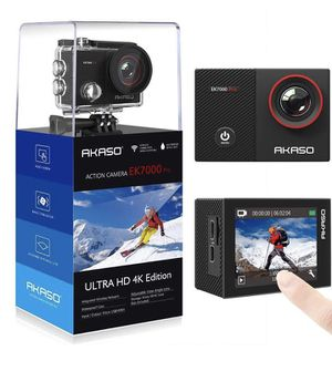 AKASO EK7000 Pro 4K video action Camera/touch screens for Sale in Greenwich, CT