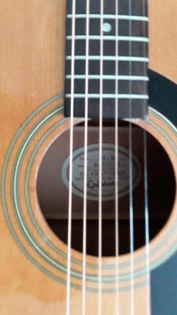 Gibson Epiphone AJ-10 Full Size Acoustic Steel Sting