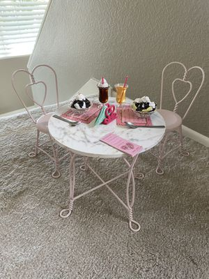 American girl doll Cafe set!! for Sale in Mission Viejo, CA