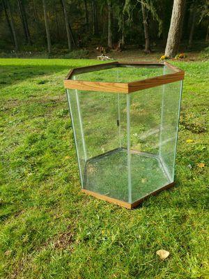 Hexagon fish tank aquarium for Sale in Lakebay, WA