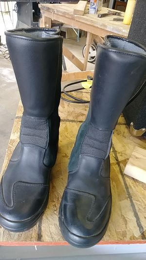 Italian leather riding and hiking boots for Sale in Athena, OR