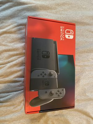 Brand new grey nintendo switch unopened! Queens, NY for Sale in Queens, NY