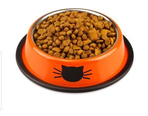 3 cat bowls, rubber base for Sale in Modesto, CA