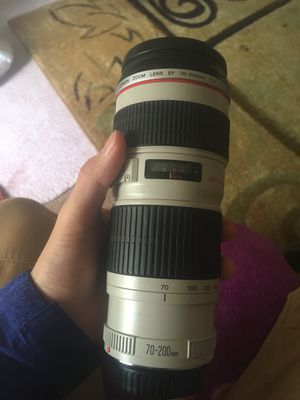 Canon lense 70-200 for Sale in Norcross, GA