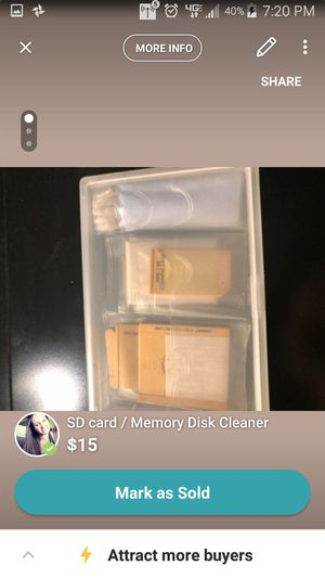SD Card and Memory Card Cleaner for Sale in Sebring, FL