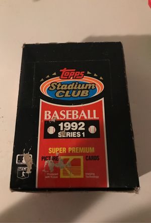 Box of 1992 baseball cards for Sale in New Britain, CT