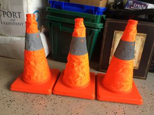 Lighted safety cones for Sale in Tampa, FL