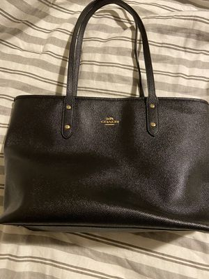 Black coach tote for Sale in Portland, OR