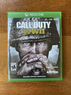 Call Of Duty WWII Xbox One for Sale in Manhattan Beach, CA