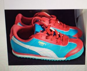 Youth Girls Puma Athletic Shoes size 10 Kids Child's for Sale in Bowie, MD